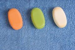 Kleurrijke zepen Stock Afbeeldingen