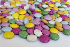 Kleurrijke zoete dragees Stock Afbeelding