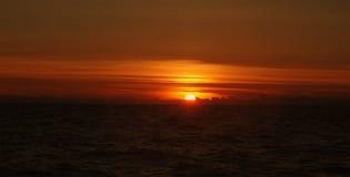 Kleurrijke zonsondergang Stock Fotografie
