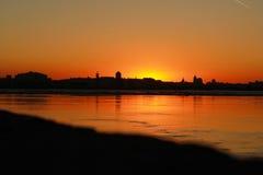 Kleurrijke zonsondergang Royalty-vrije Stock Foto's