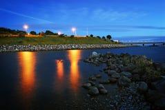 Kleurrijke Zonsondergang II Stock Afbeelding