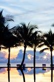 Kleurrijke zonsopgang Royalty-vrije Stock Foto's
