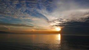 Kleurrijke Zonsopgang 01 stock videobeelden