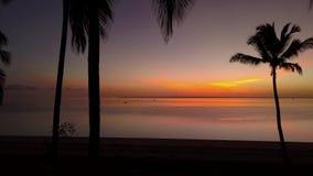 Kleurrijke zonsopgang stock footage