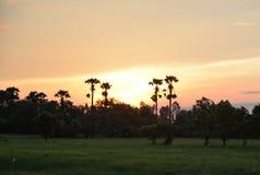 Kleurrijke zonsopgang bij dageraad Stock Afbeelding