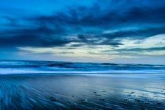 Kleurrijke Zonsopgang op de Oostkust van Florida Royalty-vrije Stock Foto's