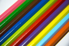 Kleurt crayonn Royalty-vrije Stock Fotografie
