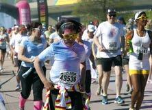 2014 kleurt Montreal me het ras van Rad 5k Stock Afbeeldingen