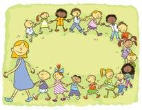 kleuterschool Royalty-vrije Stock Foto