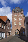 Klever Tor, medieval gate in Xanten city wall Stock Image