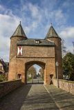 Klever tor in the old roman city of Xanten Stock Photos