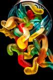 Kleverig geleisuikergoed stock fotografie