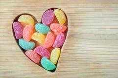 Kleverig suikergoed stock afbeeldingen