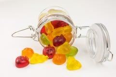 Kleverig suikergoed stock foto