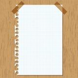 Kleverige document grafiek Royalty-vrije Stock Afbeeldingen