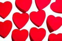 Kleverige harten stock afbeeldingen