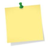 Kleverige Nota Royalty-vrije Stock Afbeeldingen