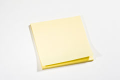 Kleverige nota Stock Foto's