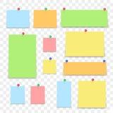 Kleverige Nota vector illustratie