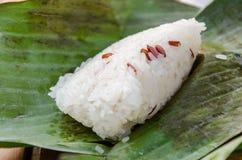 Kleverige rijst Stock Foto