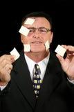 Kleverige Verkoper 1 van de Nota Stock Fotografie