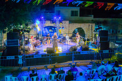 Klezmer Festival 30th in Safed Tzfat, Israel Stock Image