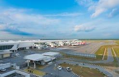 KLIA 2国际机场,吉隆坡,马来西亚 免版税库存图片