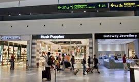 KLIA2购物中心 库存照片