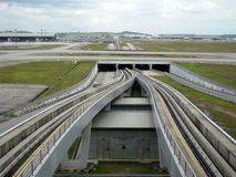 KLIA, aéroport international de Kuala Lumpur, Malaisie Photo stock