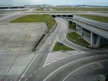 KLIA, aéroport international de Kuala Lumpur, Malaisie Images stock
