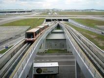 KLIA, aéroport international de Kuala Lumpur, Malaisie Photo libre de droits