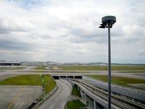 KLIA, aéroport international de Kuala Lumpur, Malaisie Image libre de droits