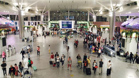 KLIA2 aéroport international, Kuala Lumpur Photo libre de droits