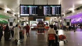 KLIA2 aeroporto internazionale, Kuala Lumpur Fotografie Stock Libere da Diritti