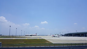 KLIA airport Royalty Free Stock Images