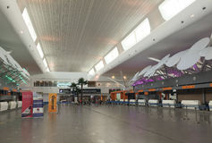 The KLIA 2 airport in Kuala Lumpur, Malaysia Royalty Free Stock Photography