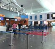 The KLIA 2 airport in Kuala Lumpur, Malaysia Stock Photos