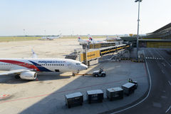 KLIA airport Stock Photos