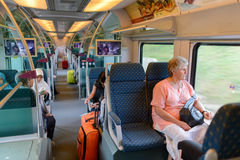 KLIA Ekspres interior Stock Photography