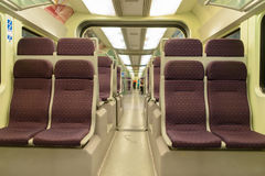 KLIA Ekspres interior Royalty Free Stock Images