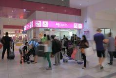 KLIA ekspres stacyjny Kuala Lumpur Obrazy Stock