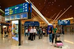 KLIA es uno de los aeropuertos más grandes de Asia Sur-Oriental Imagen de archivo libre de regalías