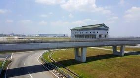 KLIA-Flughafen Lizenzfreies Stockfoto