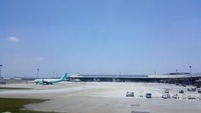 KLIA-Flughafen Lizenzfreie Stockbilder