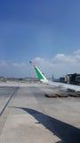 KLIA-Flughafen Stockfotos
