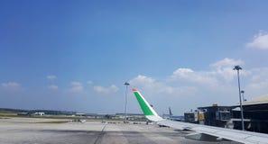 KLIA-Flughafen Stockfoto