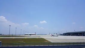 KLIA lotnisko Obrazy Royalty Free