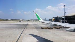 KLIA-luchthaven stock afbeelding