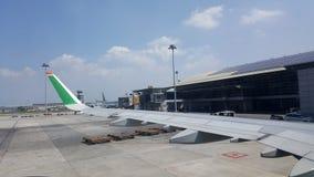 KLIA-luchthaven stock afbeeldingen