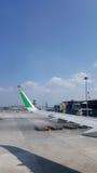 KLIA-luchthaven royalty-vrije stock afbeeldingen